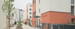 Studentwohnheim Europaviertel in Frankfurt